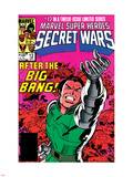 Secret Wars No.12 Cover: Dr. Doom Wall Decal by Mike Zeck