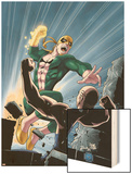 Iron Fist No.6 Cover: Iron Fist Wood Print by Kevin Lau