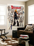 Fearless Defenders 8 Cover: Valkyrie Wall Mural by Mark Brooks