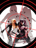 Hawkeye & Mockingbird No.3 Cover: Hawkeye and Mockingbird Wall Decal by Paul Renaud