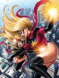 Ms. Marvel No.43 Cover: Ms. Marvel Wall Decal by Sana Takeda