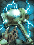 Omega Flight No.5 Cover: Marvel Universe Plastic Sign by Scott Kolins