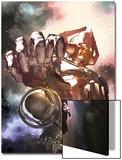 S.H.I.E.L.D. No.3 Cover: Gallactus Prints by Gerald Parel