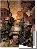 Combat Zone: True Tales Of GIs In Iraq 3 Cover: Marvel Universe Posters by Dan Jurgens