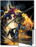 Amazing Spider-Man and Ghost Rider: Motorstorm No.1 Cover Prints by Roberto De La Torre