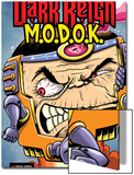 M.O.D.O.K: Reign Delay One-Shot No.1 Cover: M.O.D.O.K Posters by Ryan Dunlavey