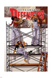 Fearless Defenders 7 Cover: Moonstar, Valkyrie, Misty Knight Wall Decal by Mark Brooks