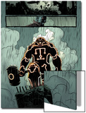 Thunderbolts No.158: Panels with Juggernaut Prints by Kev Walker