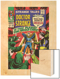 Strange Tales No.160 Cover: Dr. Strange and Baron Mordo Wood Print by Marie Severin