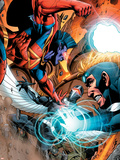 War of Kings: Ascension No.4 Group: Gladiator, Havok and Darkhawk Plastic Sign by Wellinton Alves