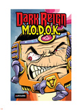 M.O.D.O.K: Reign Delay One-Shot No.1 Cover: M.O.D.O.K Plastic Sign by Ryan Dunlavey