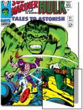Tales to Astonish No.81 Cover: Hulk and Boomerang Print by Dick Ayers