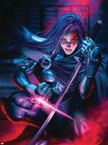 New Exiles No.9 Cover: Psylocke Wall Decal by Alan Davis