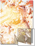 S.H.I.E.L.D. No.3: Gallactus in Explosion of Energy Art by Dustin Weaver