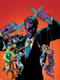 New Thunderbolts No.10 Cover: Purple Man Wall Decal by Tom Grummett