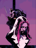 Thunderbolts No.163.1 Cover: Songbird and Baron Zemo Plastic Sign by Roberto De La Torre