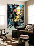 Age of Ultron 8 Cover: Wolverine, Invisible Woman Wall Mural by Brandon Peterson