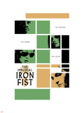 Immortal Iron Fist No.16 Cover: Cage, Luke and Iron Fist Plastic Sign
