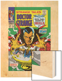 Strange Tales No.156 Cover: Dr. Strange Wood Print by Marie Severin