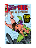 Tales to Astonish No.87 Cover: Hulk and Humanoid Plastic Sign by Bill Everett