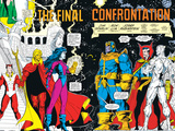 Infinity Gauntlet No.6 Group: Thanos, Nebula, Adam Warlock, Silver Surfer and Dr. Strange Fighting Prints by George Perez