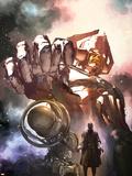 S.H.I.E.L.D. No.3 Cover: Gallactus Wall Decal by Gerald Parel