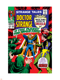 Strange Tales No.160 Cover: Dr. Strange and Baron Mordo Plastic Sign by Marie Severin