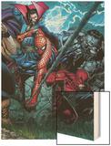 Ultimatum No.4 Cover: Spider-Man, Daredevil, Dr. Strange and Hulk Prints by David Finch