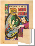 Strange Tales No.152 Cover: Dr. Strange, Umar and Mindless Ones Wood Print by Bill Everett