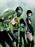 Marvel Nemesis: The Imperfects N2 Cover: Hazmat Plastic Sign