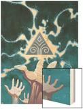 Guardians No.1 Cover: Guardians Wood Print by Casey Jones
