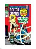 Strange Tales No.158 Cover: Dr. Strange and Living Tribunal Plastic Sign by Marie Severin