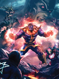The Thanos Imperative No.3 Cover: Thanos Screaming Plastic Sign by Aleksi Briclot