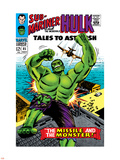 Tales to Astonish No.85 Cover: Hulk Wall Decal by Bill Everett