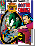 Strange Tales No.152 Cover: Dr. Strange, Umar and Mindless Ones Prints by Bill Everett