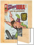 Tales to Astonish No.87 Cover: Hulk and Humanoid Wood Print by Bill Everett