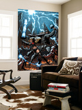 A+X 11 Cover: Thor, Magik Wall Mural by Mark Texeira