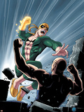 Iron Fist No.6 Cover: Iron Fist Wall Decal by Kevin Lau