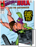 Tales to Astonish No.87 Cover: Hulk and Humanoid Prints by Bill Everett