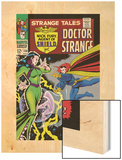 Strange Tales No.150 Cover: Dr. Strange and Umar Wood Print by Bill Everett