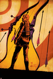 Hawkeye 12 Cover: Hawkeye Plastic Sign by Francesco Francavilla