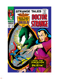 Strange Tales No.152 Cover: Dr. Strange, Umar and Mindless Ones Plastic Sign by Bill Everett