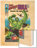 Tales to Astonish No.85 Cover: Hulk Wood Print by Bill Everett