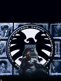 Secret War: From The Files Of Nick Fury Cover: Nick Fury Charging Wall Decal