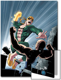 Iron Fist No.6 Cover: Iron Fist Poster by Kevin Lau
