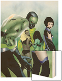 Marvel Nemesis: The Imperfects N2 Cover: Hazmat Wood Print