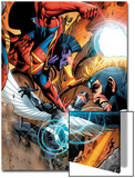 War of Kings: Ascension No.4 Group: Gladiator, Havok and Darkhawk Prints by Wellinton Alves
