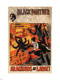 Black Panther: The Most Dangerous Man Alive No.524 Cover: Arachnids at Large! Plastic Sign by Francesco Francavilla