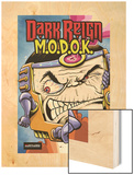 M.O.D.O.K: Reign Delay One-Shot No.1 Cover: M.O.D.O.K Wood Print by Ryan Dunlavey