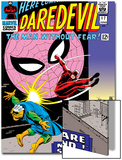 Daredevil No.17 Cover: Daredevil, Spider-Man and Marauder Art by John Romita Sr.